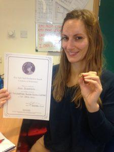Julia Wins Elsie Inglis Award